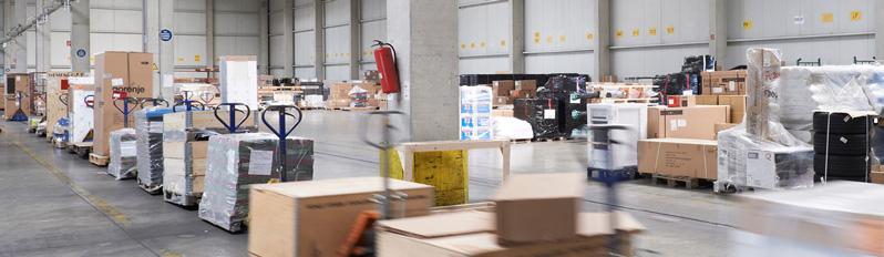 Geis Logistics Lager